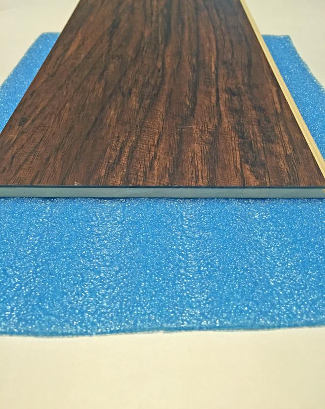 Blue 2-in-1 underlayment-200 sq.ft. per roll-Blue Flooring Accessories