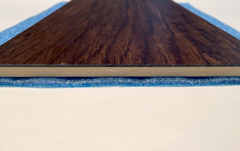 Blue 2-in-1 underlayment-200 sq.ft. per roll-Blue Flooring Accessories collection texture detail
