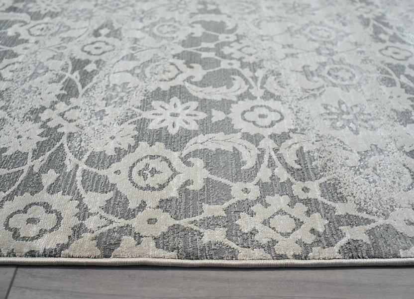 Abruzzo-24800-Taupe Machine-Made Area Rug collection texture detail