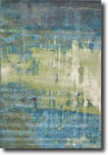 Amalfi-7530-AQLG Machine-Made Area Rug