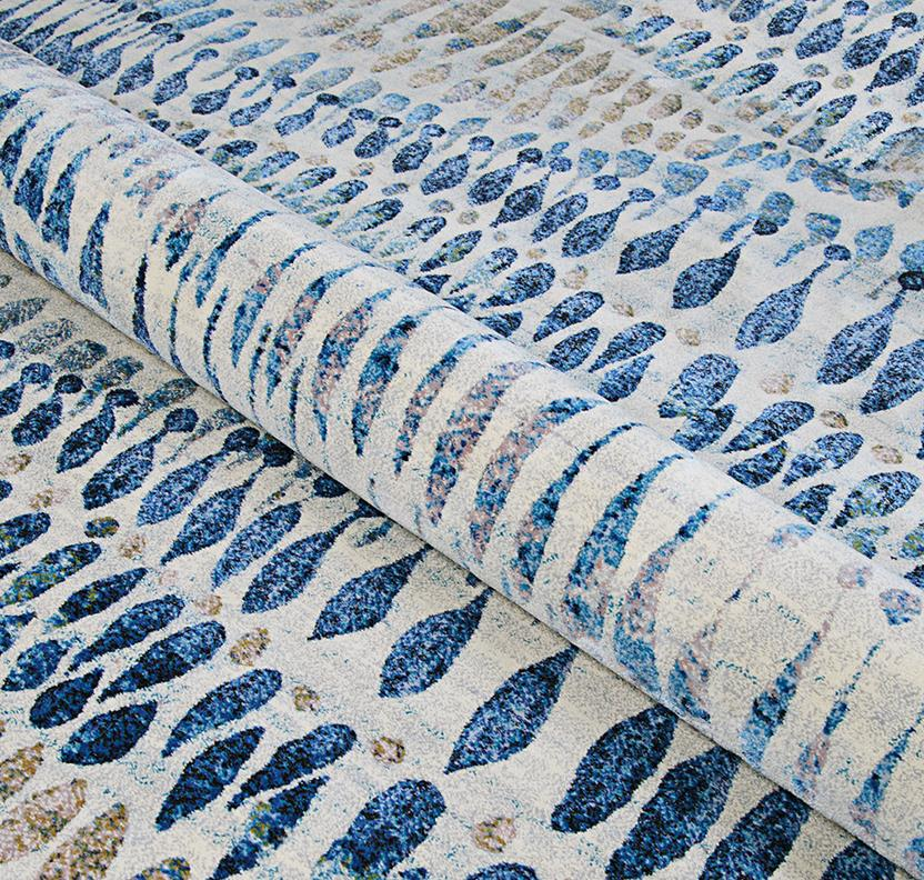 Easson CS-6842-6151 Machine-Made Area Rug collection texture detail