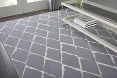 Twilight - Fifty to Infinity-TWTRL-SLATE Room Lifestyle Machine-Made Area Rug detail