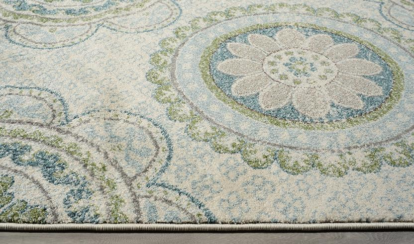 Amalfi-7540-COAQ Machine-Made Area Rug collection texture detail