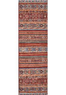 Kazak-Super-Khorgeen-Multi Hand-Knotted Area Rug
