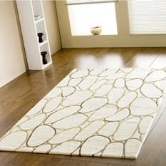 Artisan Studio-Hylo-II-80366-White Room Lifestyle Hand-Tufted Area Rug detail