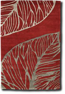 Artisan Studio-Abaca-17010-Red Hand-Tufted Area Rug