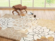 Artisan Studio Lux-Ellona II-17100-Beige White Room Lifestyle Hand-Tufted Area Rug detail
