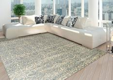 Luminance-LUM05-COBAL Room Lifestyle Machine-Made Area Rug detail