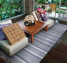 Isle CS-3445-0445 Room Lifestyle Indoor-Outdoor Area Rug detail