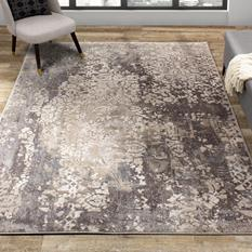 Abree KL-B886-5232 Room Lifestyle Machine-Made Area Rug detail