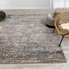 Akari KL-6405-1V40 Room Lifestyle Machine-Made Area Rug detail