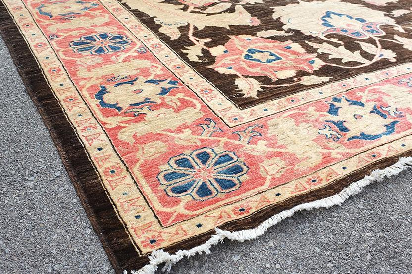 Chobi-CH-VGC-Black Hand-Knotted Area Rug collection texture detail