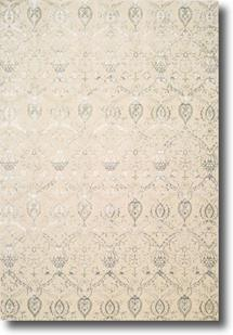 Luminance-LUM07-CREAM Machine-Made Area Rug
