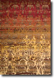 Rhapsody Nouri-RH001-SUNRS Machine-Made Area Rug