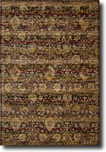 Rhapsody Nouri-RH007-EBONY Machine-Made Area Rug