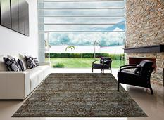 Rhapsody Nouri-RH009-BLMOS Room Lifestyle Machine-Made Area Rug detail