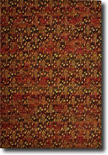 Rhapsody Nouri-RH014-FLAME Machine-Made Area Rug