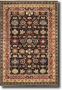 Biltmore Classics-1798-350-Charcoal/Rust Hand-Knotted Area Rug