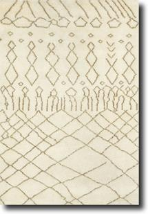 Kasbah CP-1915-600-Cream Hand-Knotted Area Rug