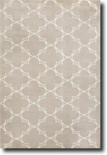 Quatrefoil by Cococozy-1931-650-Natural Linen Hand-Knotted Area Rug