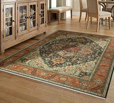 Sovereign KAR-990-14601 Room Lifestyle Machine-Made Area Rug detail