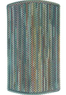Bear Creek Tailored Rect.-980-450-Deep Blue Braided Area Rug