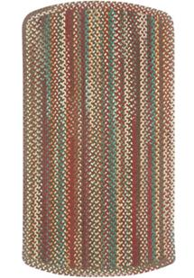 Bear Creek Tailored Rect.-980-550-Heritage Red Braided Area Rug