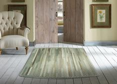 Bear Creek Tailored Rect.-980-250-Olive Branch Room Lifestyle Braided Area Rug detail
