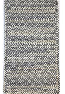 Bear Creek CS Rectangle-980-300-Grey Braided Area Rug