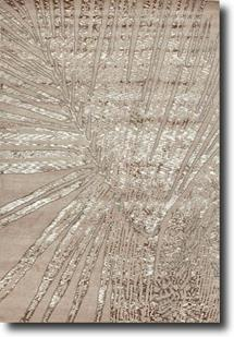 Downtown by Raymond Waites-DT03-Antique White Antique White Hand-Tufted Area Rug
