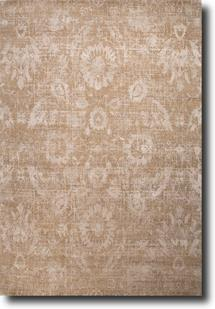 Chaos Theory by Kavi-CKV07-Oyster Gray Mustard Gold Hand-Knotted Area Rug