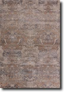 Chaos Theory by Kavi-CKV23-Flint Gray Smoked Pearl Hand-Knotted Area Rug