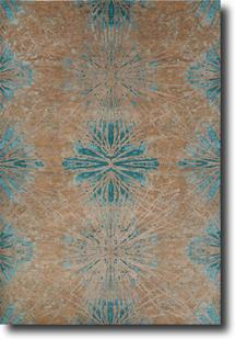 Chaos Theory by Kavi-CKV22-Canton Aluminum Hand-Knotted Area Rug