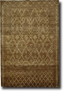 S&C Moroccan-SCMR04-Sehra Hand-Knotted Area Rug