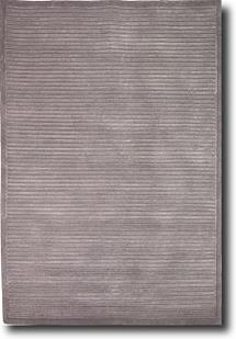 Sheer Elegance-SR04-Band Grey Hand-Knotted Area Rug