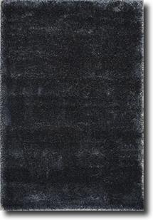 Lotus Shag-PC00-BKBK Shag Area Rug
