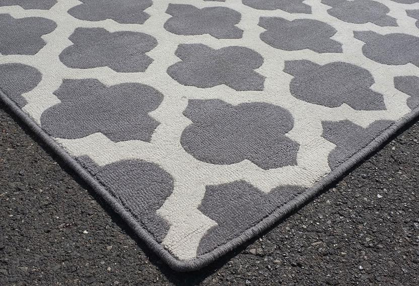 Palma-SHL01-Grey Hand-Tufted Area Rug collection texture detail