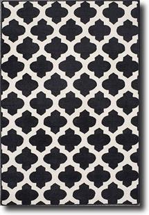 Palma-SHL01-Black Hand-Tufted Area Rug