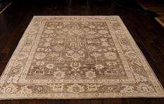 Aldora-ALD06-MOC Room Lifestyle Hand-Knotted Area Rug detail