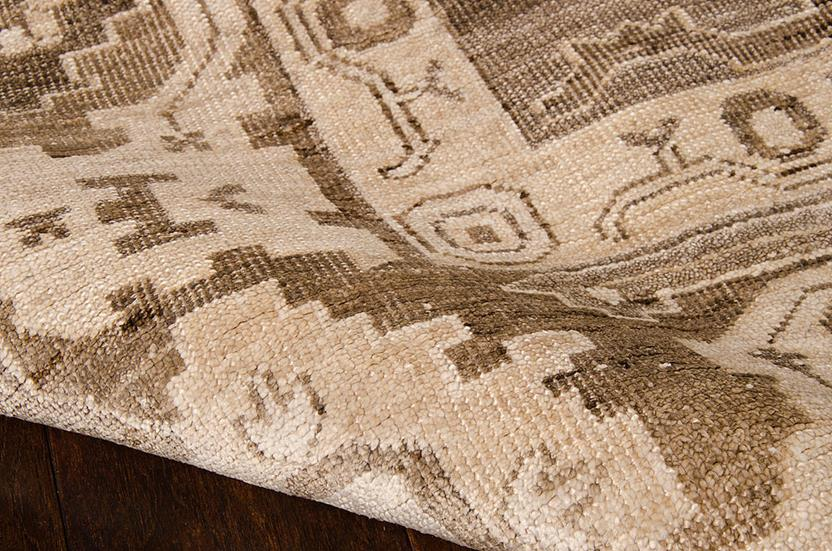 Aldora-ALD06-MOC Hand-Knotted Area Rug collection texture detail
