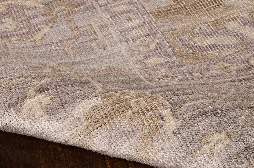 Aldora-ALD07-PEWTR Hand-Knotted Area Rug collection texture detail