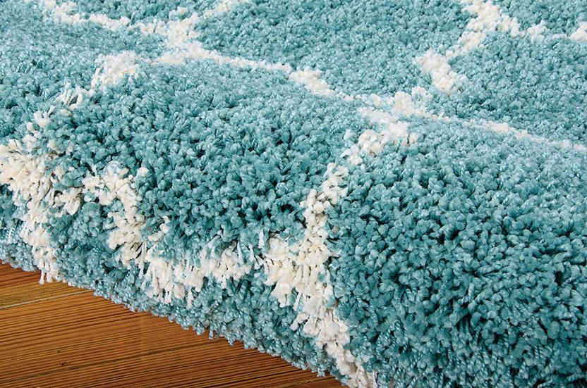 Amore-AMOR2-AQU Machine-Made Area Rug collection texture detail