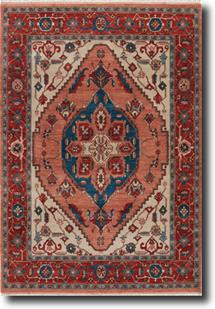 Uptown by Artemis-UT09-Wood Ash Henna Hand-Knotted Area Rug