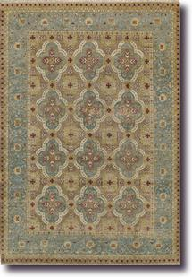 Yazzie-1908-425-Spa Blue Hand-Knotted Area Rug
