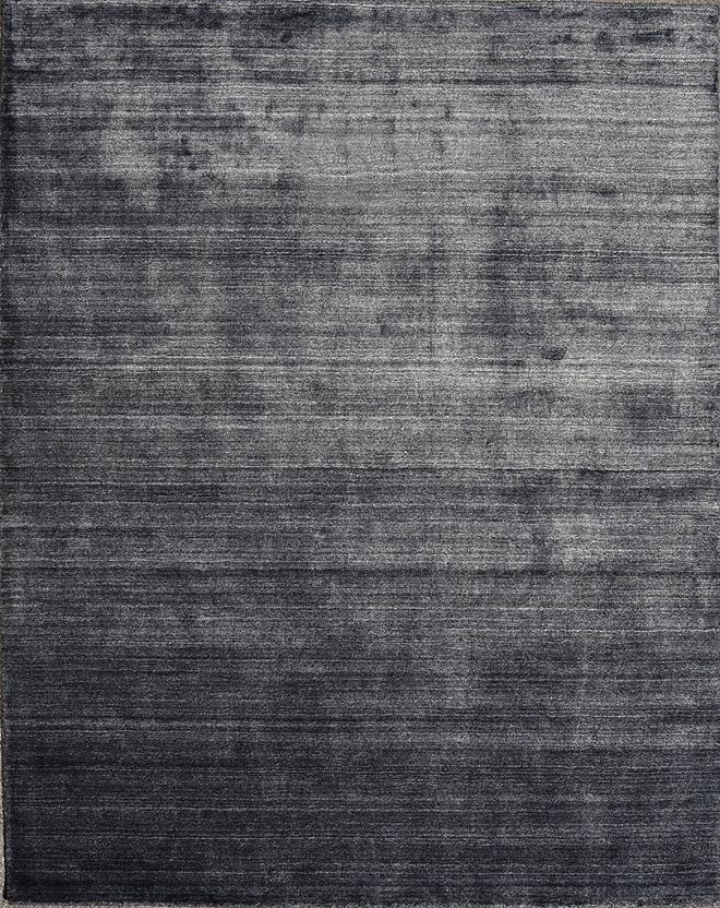 Azores solid 1 charcoal hand tufted area rug for Alexanian area rugs