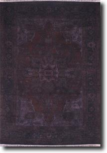 Tribal Collection-TC12-Purple Hand-Knotted Area Rug