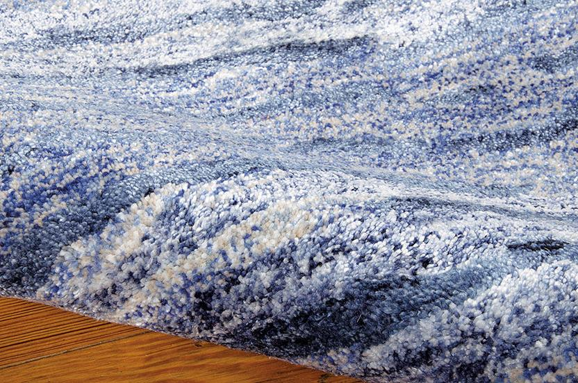 Gemstone-GEM01-LAPIS Hand-Tufted Area Rug collection texture detail
