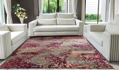 Gemstone-GEM02-TOURM Room Lifestyle Hand-Tufted Area Rug detail
