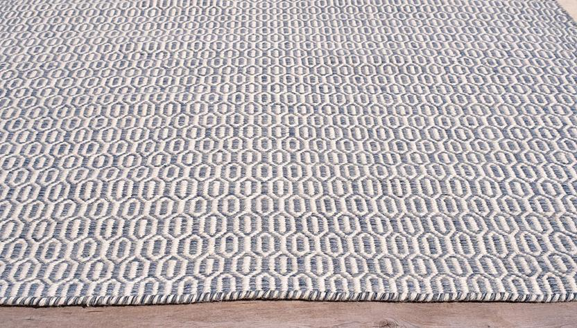 Fiji-3151-Steel Blue Area Rug collection texture detail