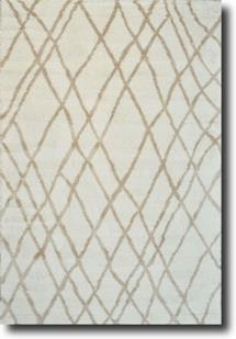 Taza-Morocco-Ivory Beige Machine-Made Area Rug